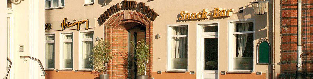 Hotel Zur Post Wismar